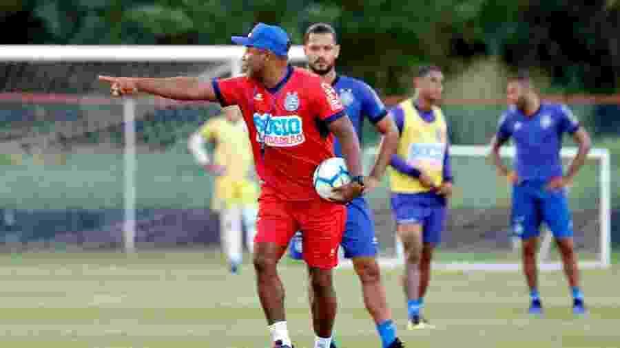Roger Machado, técnico do Bahia - Felipe Oliveira / EC Bahia