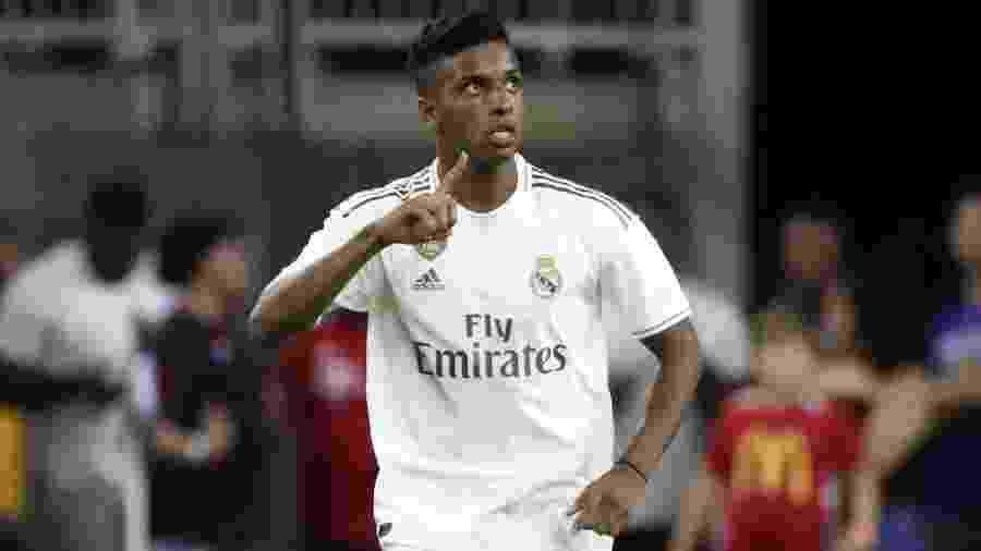 Rodrygo fez um golaço em sua estreia com a camisa do Real Madrid - Kevin Jairaj-USA TODAY Sports