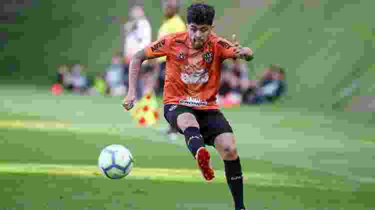 Atacante do Atlético-MG tem contrato até abril de 2022 e esteve no alvo corintiano nesta temporada - Bruno Cantini/Atletico