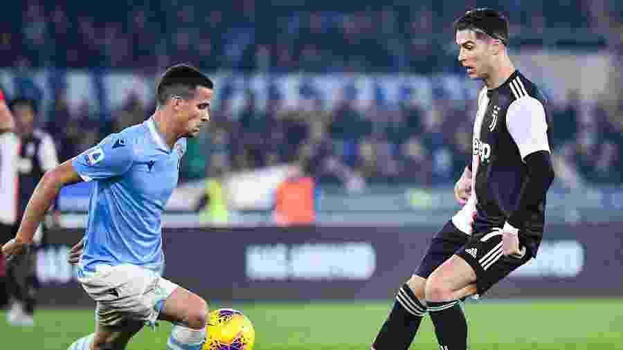 Luiz Felipe jogou só pelo Ituano no Brasil e hoje defende a Lazio: fez gol contra a Juventus - Alberto Pizzoli/AFP