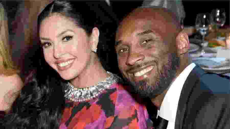 Kobe e Vanessa Bryant tiveram quatro filhas; uma delas morreu no acidente com o jogador - Getty Images