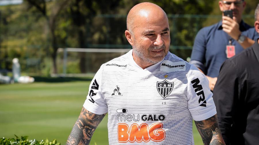 Jorge Sampaoli, treinador do Atlético-MG - Bruno Cantini/Divulgação/Atlético-MG