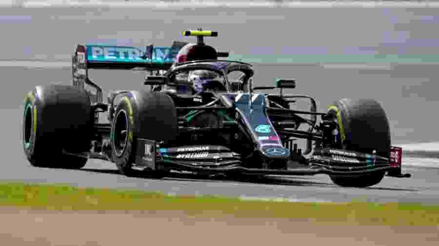 Valtteri Bottas durante GP da Grã-Bretanha de Fórmula 1  - WILL OLIVER/AFP