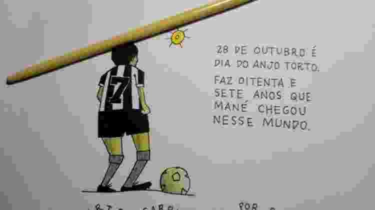 Garrincha foi o Maradona brasileiro, dentro e fora do campo, até a morte. Mas quem se lembra de Garrincha?  - Reprodução - Reprodução