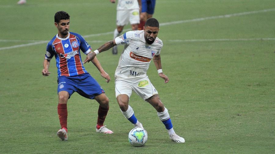 Fortaleza e Bahia fazem jogo decisivo contra o rebaixamento no Castelão - Jhony Pinho/AGIF