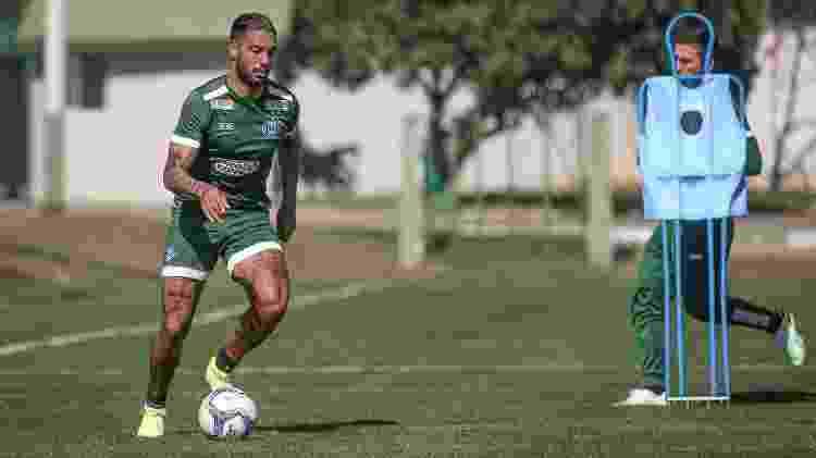 Nathan Silva é o irmão caçula do zagueiro Werley, do Vasco, e é volante do Coritiba - Divulgação / Coritiba - Divulgação / Coritiba