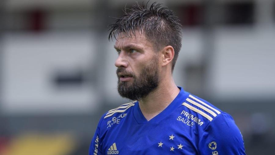Rafael Sóbis é uma das importantes lideranças do atual elenco do Cruzeiro - Divulgação