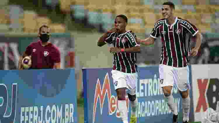 Kayky deve seguir titular do Fluminense na Libertadores - Jorge Rodrigues/AGIF - Jorge Rodrigues/AGIF