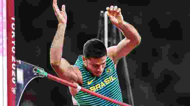 Thiago Braz conquistou medalha de bronze no salto com vara em Tóquio com 5,87m - Gaspar Nóbrega/COB - Gaspar Nóbrega/COB