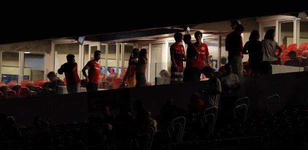 Jogo entre Inter e Veranópolis teve um apagão no Beira-Rio