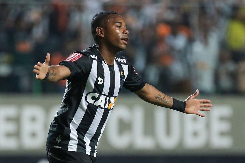 Robinho é o artilheiro do Atlético-MG no Campeonato Brasileiro, com oito gols