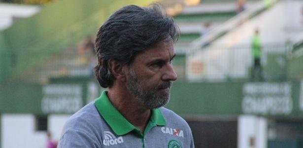 Chapecoense, do técnico Caio Júnior, pode fazer história nesta quarta-feira - Giba Pace Thomaz/Chapecoense