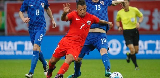 Leonardo Valencia já defendeu a seleção chilena