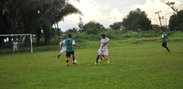 Atlético-AC se preparou para duelo com o Atlético-MG no campo da Federação de Futebol do Acre