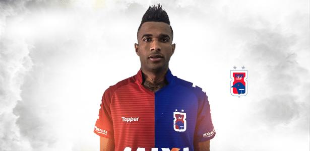 Renê Santos estava no Atlético-GO e agora reforça o Paraná na Série A - Comunicação PRC
