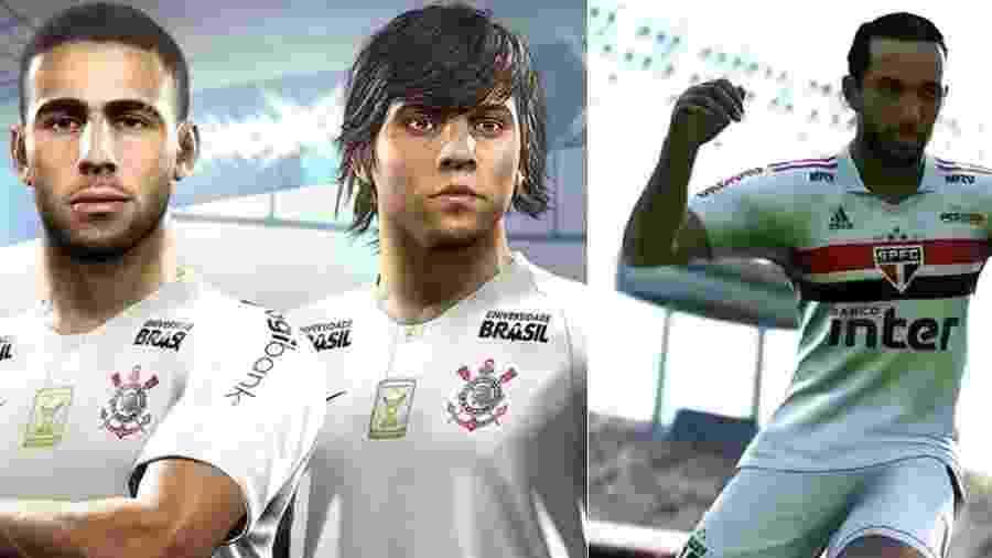 São Paulo e Corinthians disputam quem fechou melhor acordo com game ... e7a714e187cf9