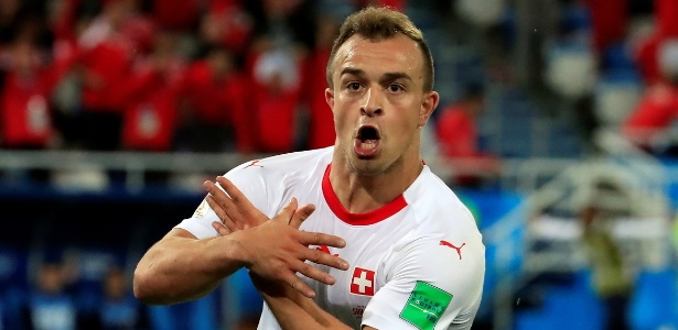 Pivô de polêmica durante a Copa, Shaqiri deve visitar a Sérvia com o Liverpool - REUTERS/Gonzalo Fuentes