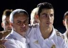"""CR7 reencontra Mourinho na Champions e """"divide"""" crise com técnico do United - AFP PHOTO/ Jaime REINA"""