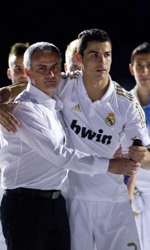 José Mourinho e Cristiano Ronaldo trabalharam juntos no Real Madrid