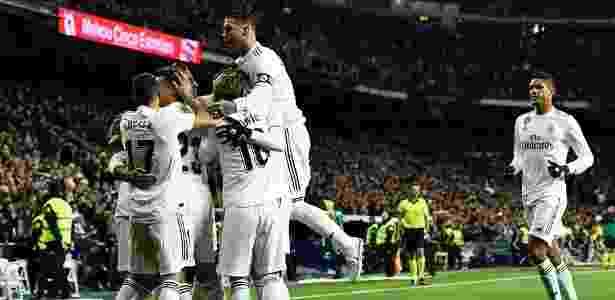 Real Madrid venceu Valencia por 2 a 0 no Santiago Bernabéu - Oscar del Pozo/AFP