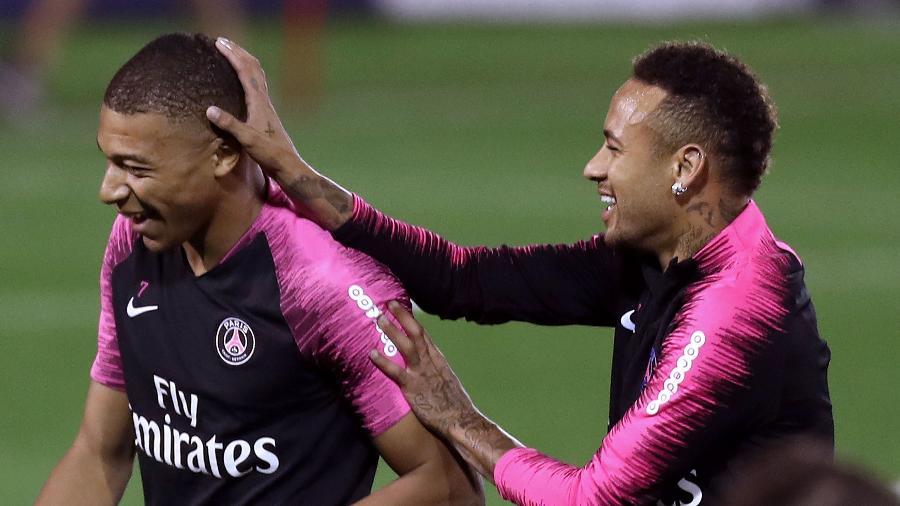 6539e24c9ef72 Leitores do UOL contratariam Mbappé e Neymar para o Real se fossem Zidane