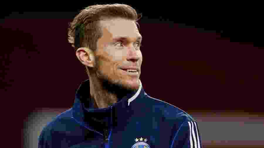 """Para Szczesny, goleiro que foi companheiro de Hleb (foto) no Arsenal, meio-campista """"poderia ter feito muito mais"""" no futebol - John Sibley/Reuters"""