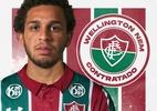 Fluminense anuncia contratação do atacante Wellington Nem - Divulgação/Fluminense