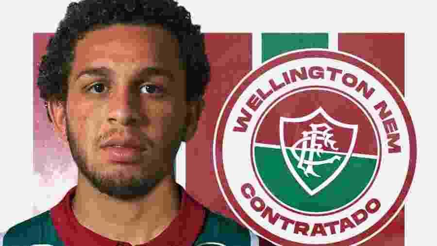 Fluminense anuncia contratação de Wellington Nem - Divulgação/Fluminense