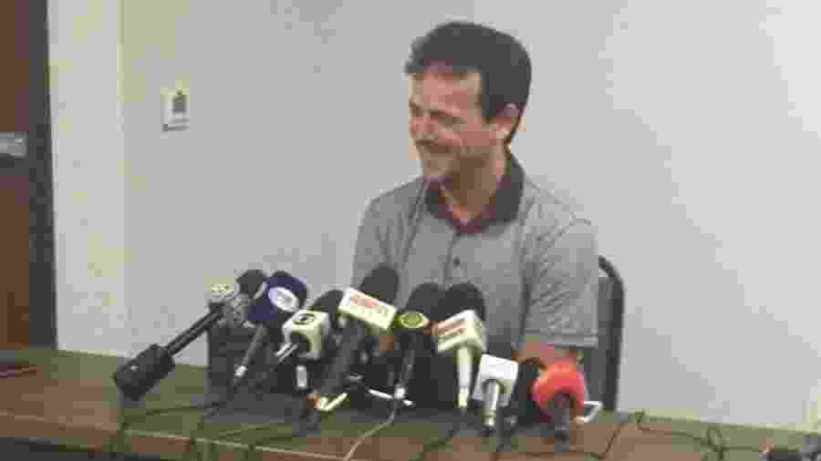 Fernando Diniz concede entrevista após demissão do Fluminense - Caio Blois / UOL