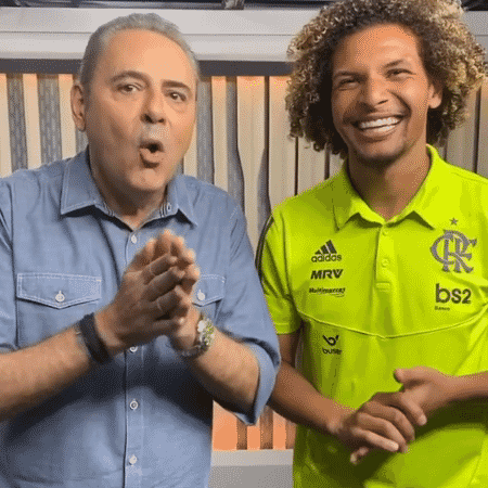 Luís Roberto e Willian Arão falam sobre Liverpool - Reprodução / Instagram