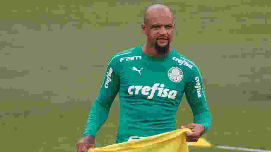 Felipe Melo, zagueiro do Palmeiras - Marcello Zambrana/AGIF