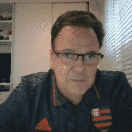 Rodrigo Dunshee de Abranches, vice-presidente do Flamengo - Reprodução/SporTV