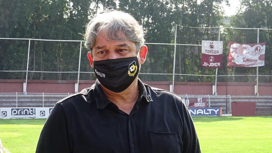 Marcelo Veiga é técnico do São Bernardo - Gabriel Goto/São Bernardo