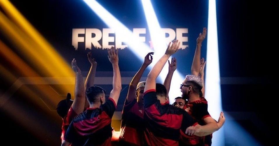 Equipe de Sports do Flamengo, no free fire