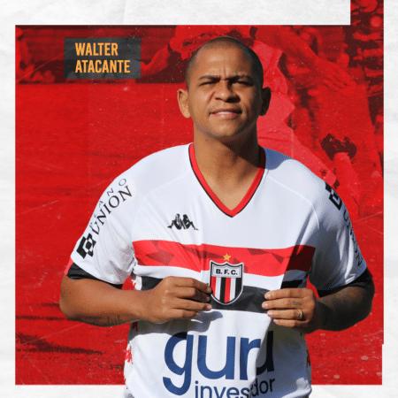 Walter é o novo reforço do Botafogo-SP para a Série C - Reprodução