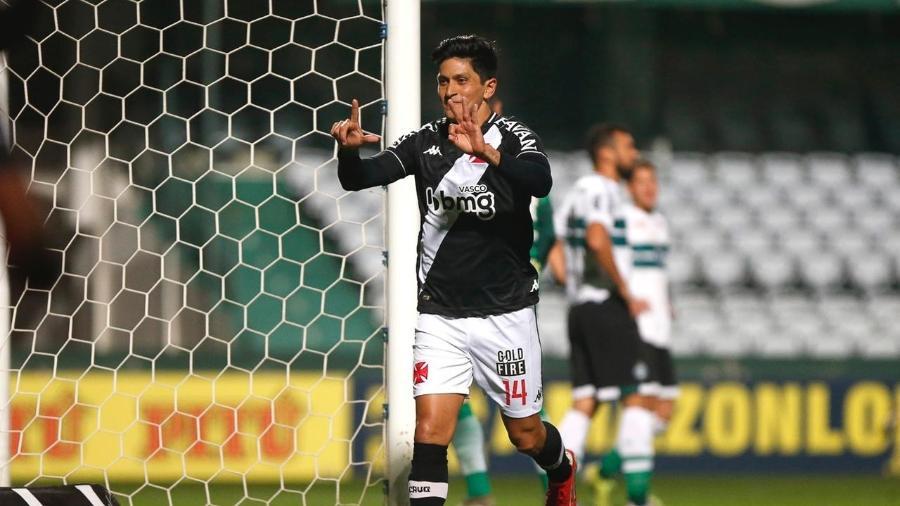 Germán Cano é a principal esperança de gols do Vasco na partida diante do Náutico em São Januário - Rafael Ribeiro / Vasco