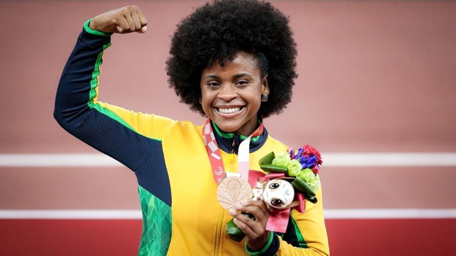 Julyana da Silva, bronze no lançamento de disco em Tóquio-2020 - Miriam Jeske/CPB