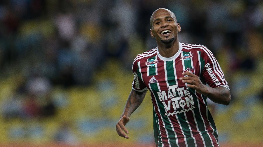 Wellington Silva comemora gol do Fluminense - Ruano Carneiro/AGIF