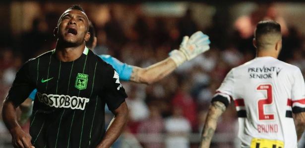 Borja foi a arma de Rueda para eliminar o Tricolor na Libertadores de 2016 - Miguel Schincariol/AFP Photo