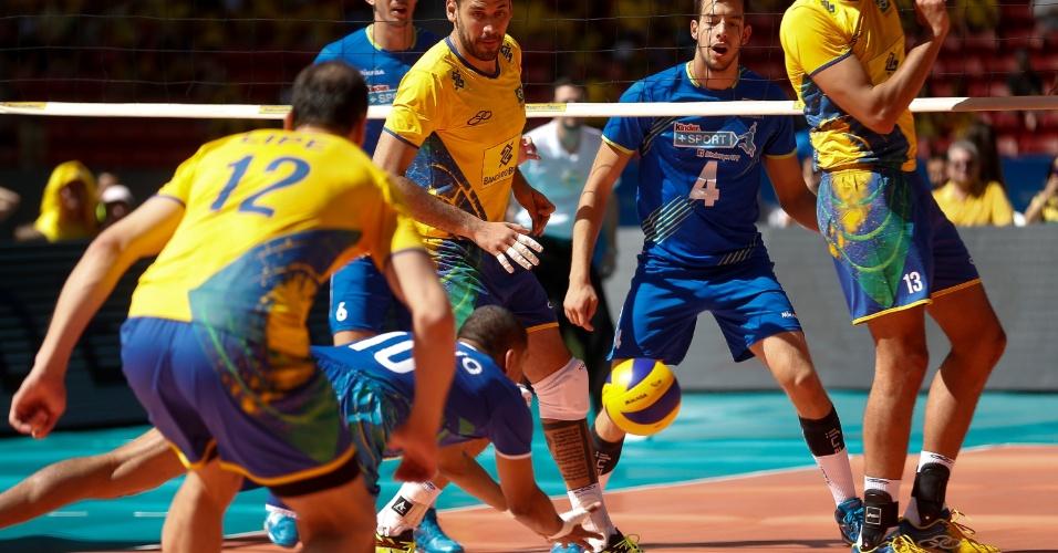 Brasil e Portugal se enfrentaram em amistosos no sábado e domingo