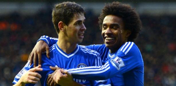 Chelsea irá vender Oscar para o Shanghai SIPG