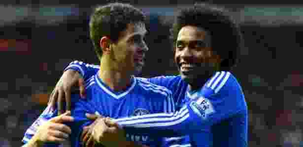 Oscar e Willian perdem espaço e Chelsea fica menos brasileiro - 05 ... c244612969587