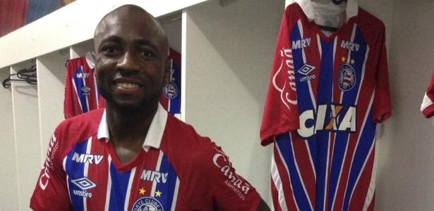 Lateral Armero é a única contratação do Bahia até agora para 2017