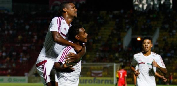 Wendel marcou o primeiro gol do Fluminense na vitória em cima do Grêmio Osasco