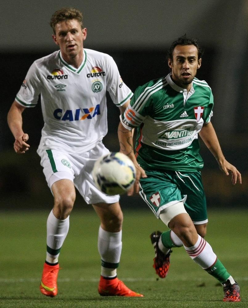 Fabiano Valdivia Chapecoense Palmeiras