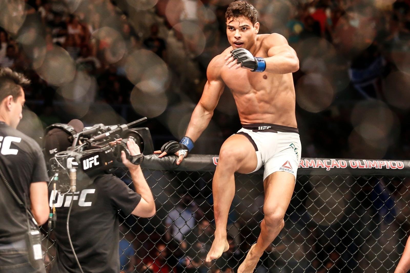 Paulo Borrachinha estreia no UFC com um nocaute sobre Garreth McLellan