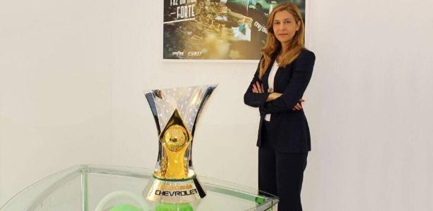 Leila Pereira debutou no Conselho Deliberativo do Palmeiras na noite da última terça