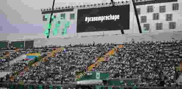 Arena Condá recebe um bom público para duelo Chapecoense x Atletico Nacional - JARDEL DA COSTA/FUTURA PRESS/FUTURA PRESS/ESTADÃO CONTEÚDO - JARDEL DA COSTA/FUTURA PRESS/FUTURA PRESS/ESTADÃO CONTEÚDO
