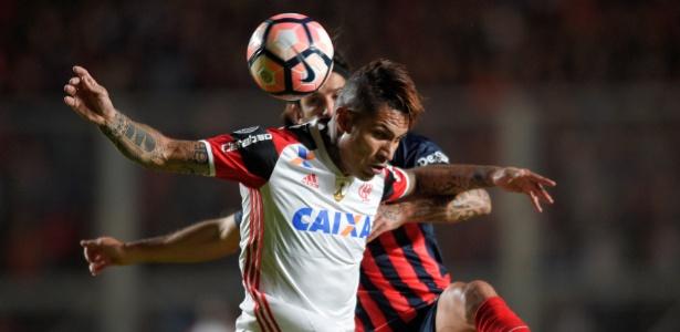 Flamengo perdeu do San Lorenzo na Argentina e foi eliminado da Libertadores