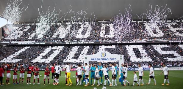 Corinthians teve maior média de renda e maior taxa de ocupação no Brasileirão 2017